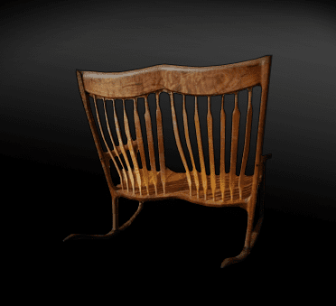 Chairs - Custom woodworking of furniture gallery